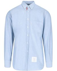 Thom Browne Buttoned Shirt - Blue