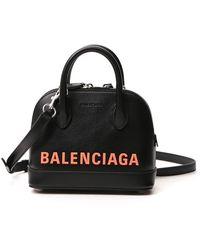Balenciaga Ville Xxs Top Handle Bag - Black