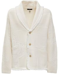 Alanui The Quiet Of The Canyon Cardigan - White