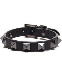 Valentino Garavani Garavani Rockstud Bracelet - Black