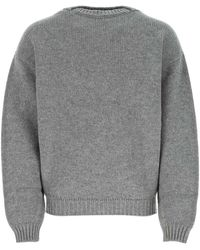 Fear Of God Crewneck Knitted Sweater - Gray