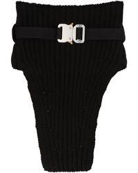 1017 ALYX 9SM Knitted Neck Warmer - Black
