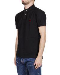 Polo Ralph Lauren Slim-fit Mesh Polo Shirt - Black