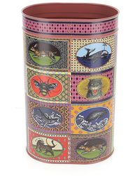 Gucci Vintage Playing Card Print Umbrella Stand - Multicolour