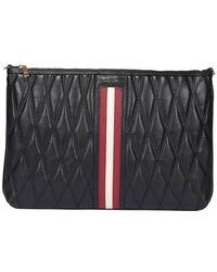 Bally Dylla Clutch Bag - Black