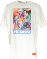 Heron Preston Graphic Printed T-shirt - White