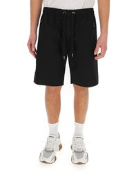 Dolce & Gabbana Zip Pocket Shorts - Black