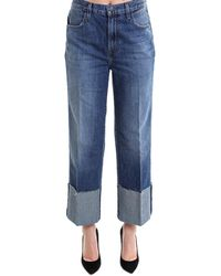 J Brand - Cropped Loose Fit Jeans - Lyst