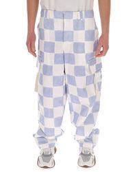 Jacquemus Le Pantalon Alzu Cargo Pants - Blue