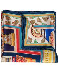 Etro Jodhpur Silk Foulard - Multicolor