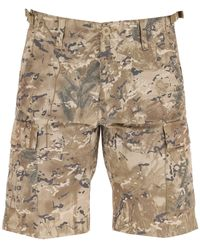 Carhartt WIP Aviation Camouflage Cargo Shorts - Natural