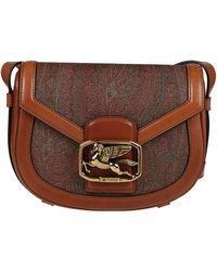Etro Other Materials Shoulder Bag - Brown