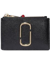 Marc Jacobs The Snapshot Top-zip Multi Wallet - Multicolour