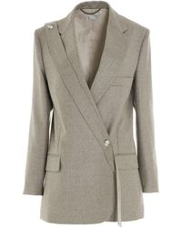 Stella McCartney Rylee Tailored Blazer - Grey