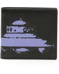 Valentino X Undercover Ufo Printed Wallet - Black