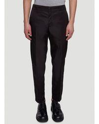 Prada Re-nylon Straight Leg Pants - Black