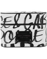 Dolce & Gabbana Dauphine Logo Printed Airpod Pro Case - Multicolour