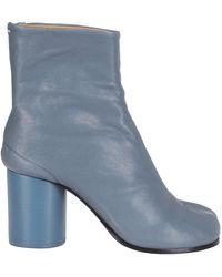 Maison Margiela Tabi Ankle Boots - Blue