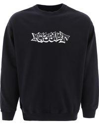 "Rassvet (PACCBET) ""graffiti"" Sweatshirt - Black"