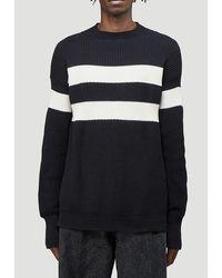 Marni - Contrast Stripe Knit Jumper - Lyst