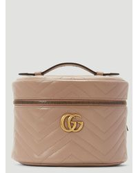 Gucci GG Marmont Cosmetic Case - Natural