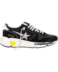 Golden Goose Deluxe Brand Running Sole Trainer - Black