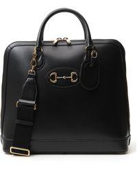 Gucci Horsebit 1955 Duffle Bag - Black
