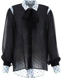 Maison Margiela S51dl0358s53823002s Other Materials Shirt - Black