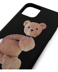 Palm Angels Teddy Bear Iphone 11 Pro Case - Black