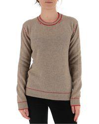 Marni - Contrast-stitch Jumper - Lyst