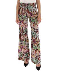Missoni Floral Wide-leg Pants - Multicolor