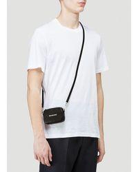 Balenciaga Cash Mini Crossbody Bag - Black