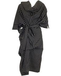 "Vivienne Westwood - ""cliff"" Asymmetrical Dress - Lyst"
