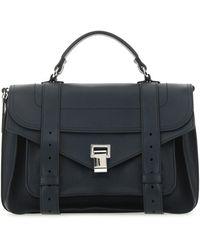Proenza Schouler Ps1 Medium Shoulder Bag - Blue