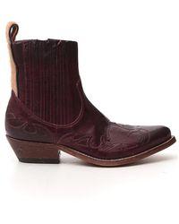 Golden Goose Deluxe Brand - Santiago Ankle Boots - Lyst