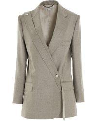 Stella McCartney Rylee Tailored Blazer - Grey