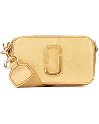 Marc Jacobs Snapshot Dtm Metallic Cross Body Bag