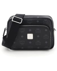 MCM - Klassik Visetos Small Crossbody Bag - Lyst