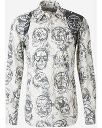 Alexander McQueen Skull Print Shirt - Multicolour