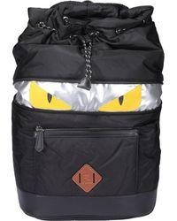 Fendi - Bag Bugs Drawstring Backpack - Lyst