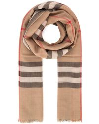 Burberry Lightweight Vintage Check Scarf - Multicolour