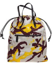 Valentino Men's Nylon Rucksack Backpack Travel - Multicolour