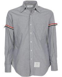 Thom Browne - Logo Armband Shirt - Lyst