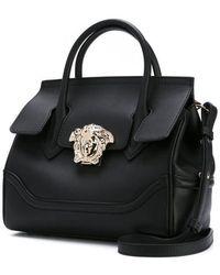 Versace Empire Palazzo Small Tote Bag - Black