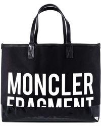 Moncler Genius Moncler X Fragment Logo Tote Bag - Black