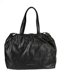 Brunello Cucinelli Drawstring Tote Bag - Black