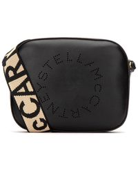 Stella McCartney Logo Mini Crossbody Bag - Black