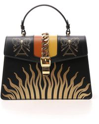 Gucci - Sylvie Top Handle Bag - Lyst