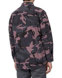 Vans Cutler Camouflage Print Shirt - Multicolour