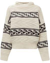 Étoile Isabel Marant Suri Knit Jumper - Natural